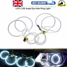 4X White LED CCFL Angel Eyes Halo Rings DRL Light Fit For BMW E36 E38 E39 E46