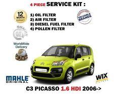 pour Citroen C3 PICASSO 1.6 HDi 2006- > KIT DE SERVICE HUILE AIR carburant
