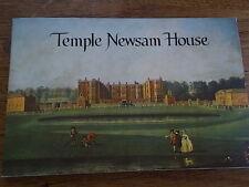 TEMPLE NEWSAM HOUSE LEEDS West Yorkshire Vintage 1979 Booklet illustrated