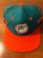Miami Dolphins NFL Snapback Vintage Hat NWOT 1990's?