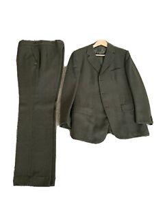 """Mens Vintage Tweed Suit 42"""" Jacket"""