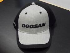 Doosan Construction Black/Grey Adjustable Mens/Womens Baseball Cap - BA