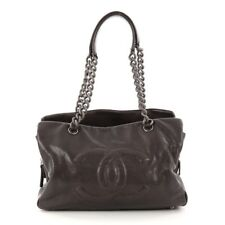100% Authentic Chanel Caviar Timeless Tote With Caviar Chain Shoulder Straps