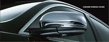 Jaguar Chrome Mirror Cover Set XF XJ XK 2010-Current C2D5488 C2D5489 OEM