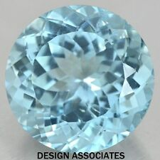 SKY BLUE TOPAZ 10 MM ROUND CUT AAA ALL NATURAL