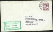 UK - 1965 British European Airways  First 'TRIDENT  Flight to Dusseldorf [6956]*