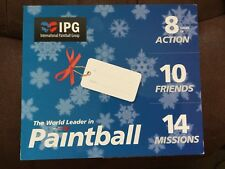 IPG PAINTBALL TICKETS FOR 10 adults at discounted price.