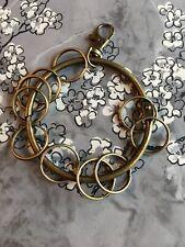 Keyring Keychain Clips Hook Clasps Big Key Ring Split DIY Bronze Oversize New