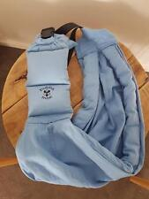 Bubba Moe Light Blue Padded Shoulder Strap Baby Wearing Sling Carrier Newborn