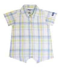 Oshkosh B'gosh Woven Plaid Romper #860 Infant/Baby Boy Clothes, Size: 9 months