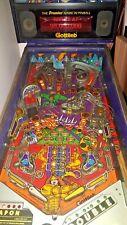 Pinball machine Gladiators by Gottlieb flipper dual arcade game