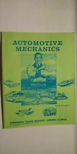 1973 Automotive Mechanics Manual by Commercial Trades Institute Lesson 26 & 27