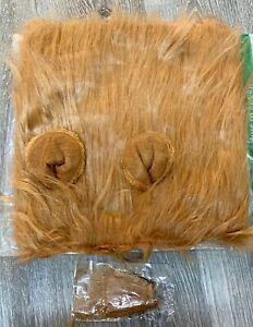 New Dog Lion Mane Costume Funny Lion Mane for Dogs Size Large Dog Lion Mane New