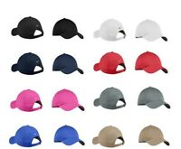 NEW NIKE-UNSTRUCTURED - SWOOSH ON BACK- GOLF-BASEBALL-HAT-CAP-DAD-HATS