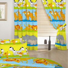 Cotton Blend Children's Bedroom Curtains & Blinds