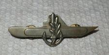 Original-Blech-Abzeichen U-Boot-Fahrer / Marine Israel