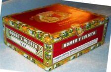 ROMEO y JULIETA reserva real NO.2 CIGAR BOX empty Excellent Condition juliet
