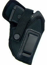 INSIDE PANTS IWB NYLON RH HOLSTER w/ COMFORT TAB - RUGER LCP II 380 w/ LASER