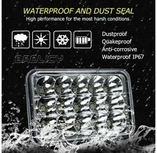 "4x6""  For Kenworth Peterbilt LED Headlights H6545 H4666 H4656 H4651 (QUICK SHIP)"