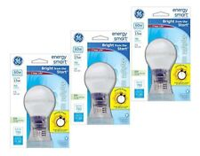 Pack of 3 GE 15W CFL Energy Smart Bulb Equivalent to 60W Daylight Cool Color