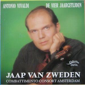 JAAP VAN ZWEDEN  -  ANTONIO VIVALDI: LE QUATTRO STAGIONI - CD