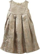 Baby Gap Dress Gold Shiny Sleeveless Lined Holiday Christmas Size 4T NWT