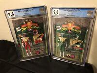 Mighty Morphin Power Rangers #1 CGC 9.8 JJUFS Action Figure Variant