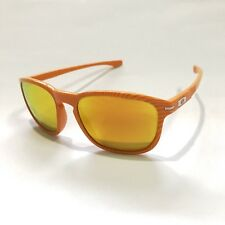 Oakley Sunglasses * Enduro 9223-22 Fingerprint Atomic Orange Fire Iridium