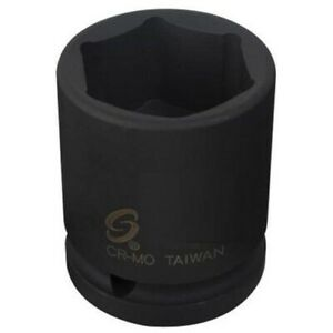 "Sunex 1/2"" IMPACT Sockets SAE METRIC 6pt Shallow Standard MM NEW Tools You Pick"