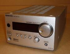 Sintonizzatore Stereo Onkyo Amplificatore Amplificatore Deck RDS accuclock WRAT r-801a