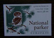 Sweden 1999 Europa Booklet MNH