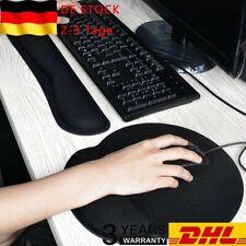 Ergonomische Handgelenkauflage Set, Handgelenkstütze für Tastatur Maus DE DHL