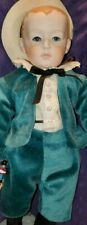 """Antique DOLL REPRODUCTION Heubach   Boy Charactr Bisque Doll  #320 ~W/ STAND 14"""""""
