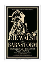 Joe Walsh 1973 Cleveland Concert Poster