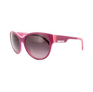 Diesel Sunglasses DL0013 74Z Strawberry Salmon Pink Pink Gradient