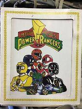 Rare Vintage mighty morphin Power Rangers Picture Carnival Prize 6 Figures