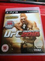 UFC Undisputed 2010 (Sony PlayStation 3, 2010)