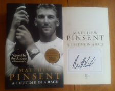 MATTHEW PINSENT SIGNED A Lifetime in a Race Olympic Gold Medal Rower HARDBACK