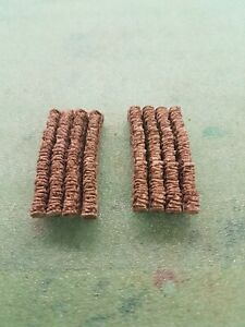 8 CURVE STONE WALLING 00 GAUGE SCENERY BRAND AND NEW BOXED.