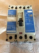 Westinghouse 30Amp 3 Pole Series C Industrial Circuit Breaker Fd3030