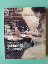 DE AYALA GUENO LES PLUS BEAUX MANUSCRITS DE FEMMES + PARIS POSTER GUIDE
