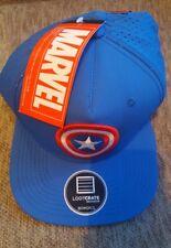 Capitán América Sombrero Gorra Oficial Marvel Snap Back Azul