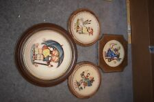 Lot of 4 M I Hummel Goebel Annual Porcelain Plates 1972, 1973, 1974, 1975 Annv