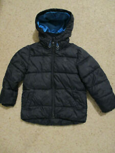 Boys Next Navy Blue hooded warm padded anorak aged 3 years