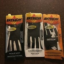 Ektelon Racquetball Gloves Right Hand Medium Lot of 3 pairs
