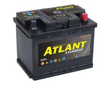 Autobatterie 55Ah 12V 500A/EN ATLANT - TOP SOFORT & NEU - Starterbatterie 55 Ah