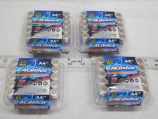 120 AC Delco AA Super Alkaline Batteries 4x 30 Bulk Lot acdelco Fast Free Ship!