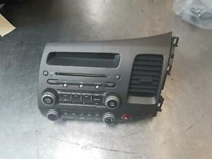 HONDA CIVIC RADIO/AUX/CD PLAYER, 8TH GEN, 02/06-12/11