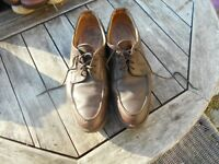 RARE CHAUSSURES PARABOOT  CUIR MARRON T 45 BE A 66€ ACH IMM FP RED MOND