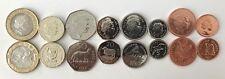 Falkland Islands Full Coin Set £0.01 - £2 2004-2011 UNC Coin